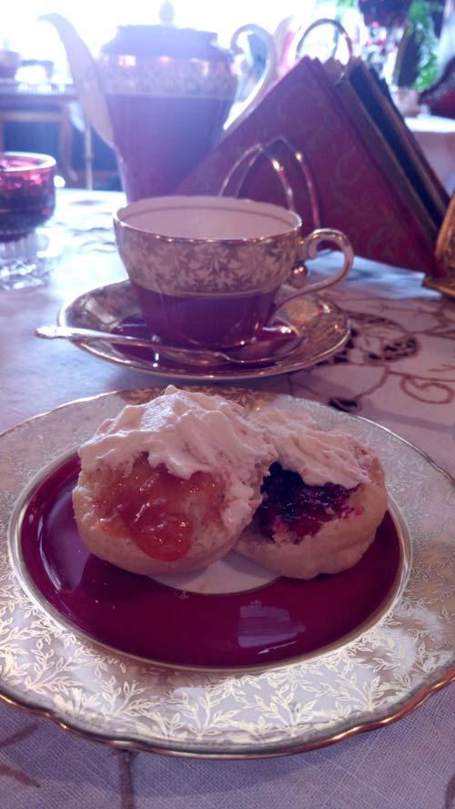 Scones and Cream (Image Source: Grace Shepherd)