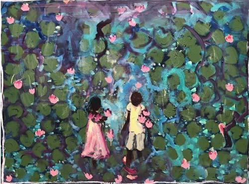 WATERLILLIES 3 By John Maitland
