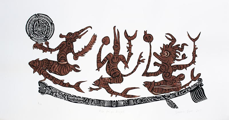 Dennis Nona, Kisa Paipa Angaik