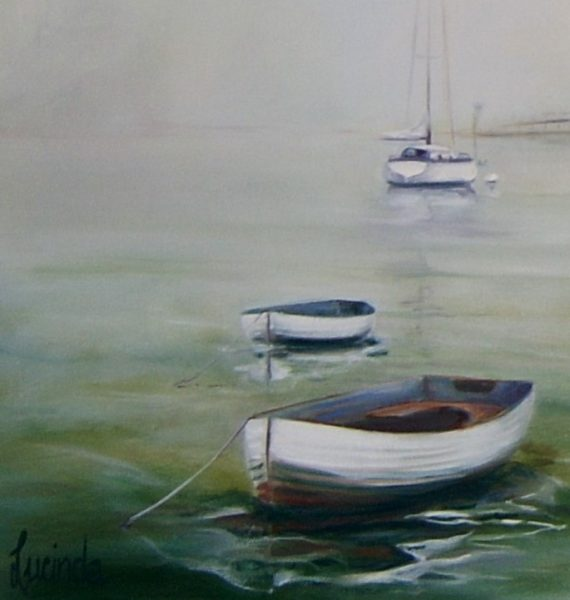 Moored by Lucinda Leveille
