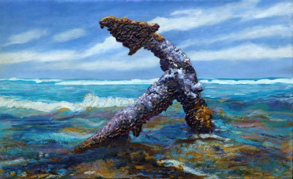 Shoreline Anchor by Gayle Reichelt