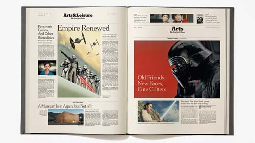 A History of the Force: The New York Times on Star Wars