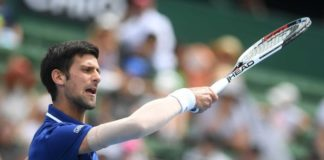 Djokovic at Kooyong Classic