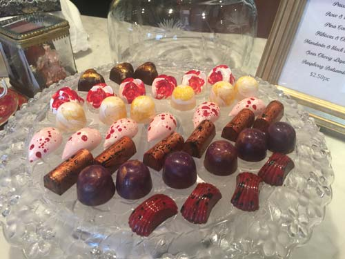 Mamor Chocolates | Chocolate High Tea Szalon