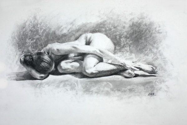 A Resting Figure – Pauline Adair