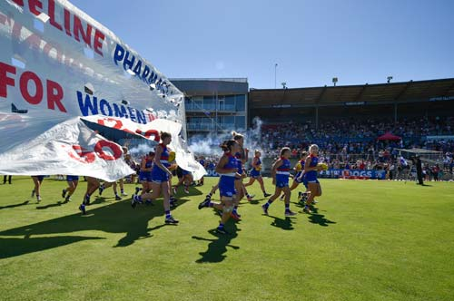 Western Bulldogs (Photographer: Liz Vagg)