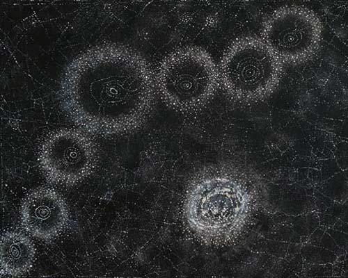 Alma Nungarrayi Granites YanjirlpirriNapaljarri Warnu Star & Seven Sisters 2012