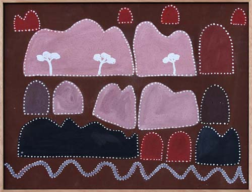 Queenie McKenzie Carboyd Ranges near Argyle Diamond Mine 1995