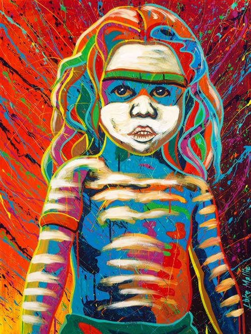 Ltd Ed Print Child Dancer Luke Mallie