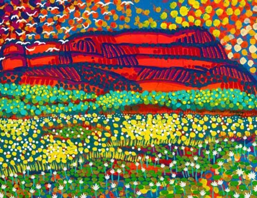 Ltd Ed Print This Land of Ours – Nourlangie Rock, Kakadu National Park, Australia Luke Mallie