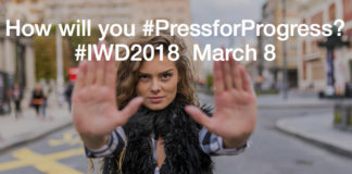 IWD calls for us all to #PressforProgress