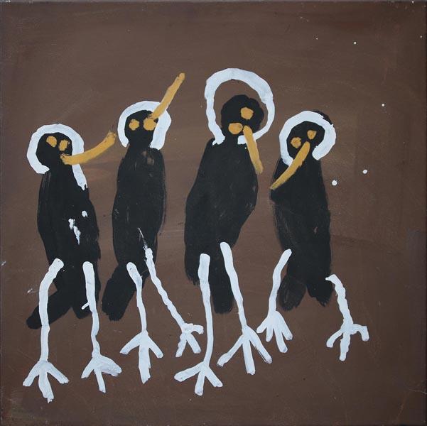 Patsy Anguburra Lulpunda 4 Wandjina Birds 2000
