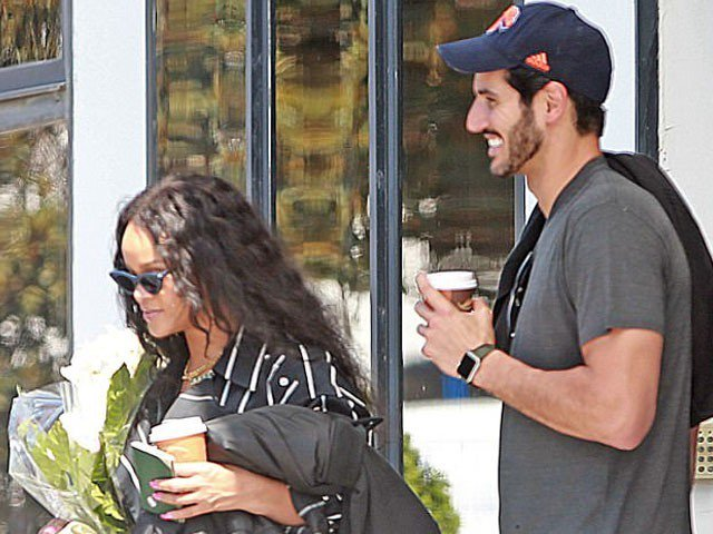 Rihanna and Hassan Jameel (Express Time)
