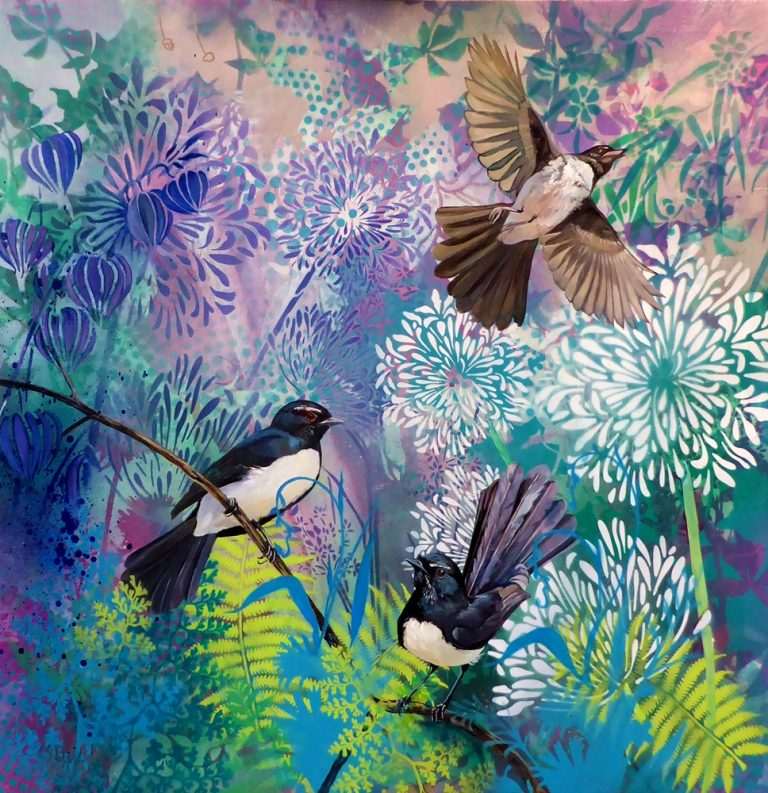 Willie Wagtails by Susan Skuse