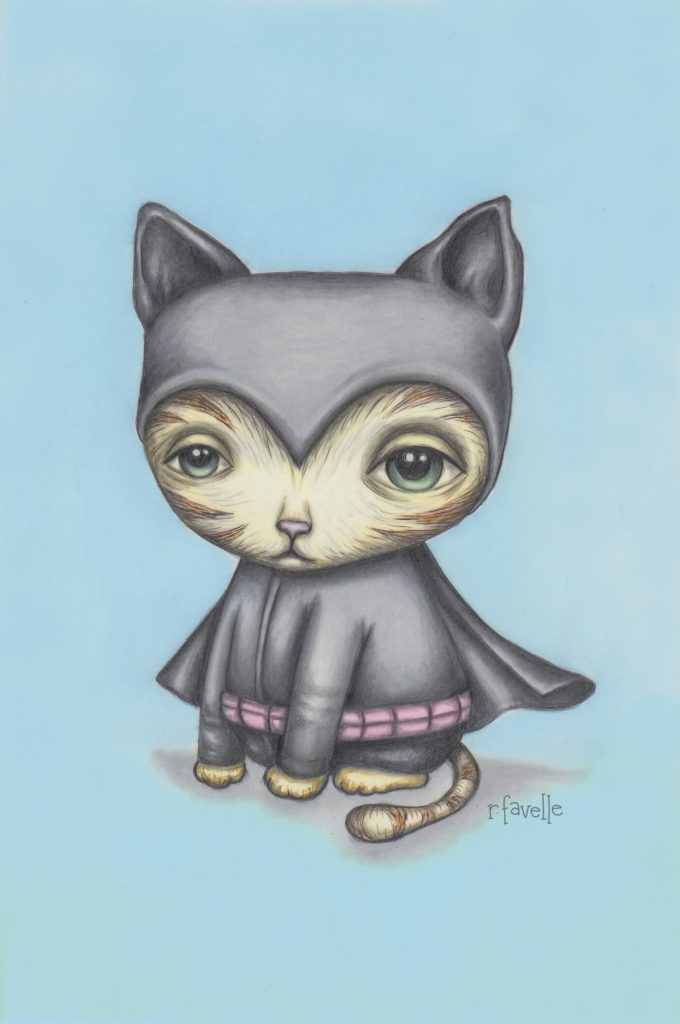 Bat Cat by Rachel Favelle