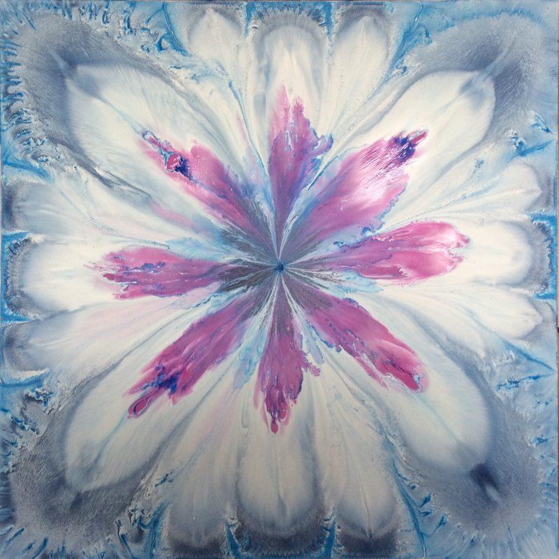 Blue Petals by Lara Accarias