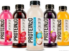 Protein2o Protein Water (Image Source Food Navigator)