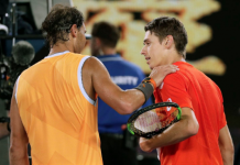 Rafael Nadal and local star Alex de Minaur. (Image Source: WP)