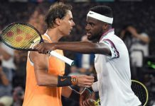 Rafael Nadal dominated his match against unseeded US player Frances Tiafoe (Image Source: Tennis World)