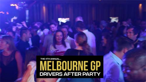 Melbourne GP Drivers After Party at Club 23