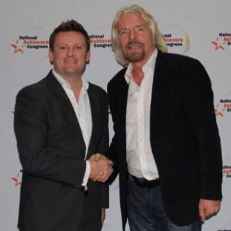 Michael Lane and Richard Branson