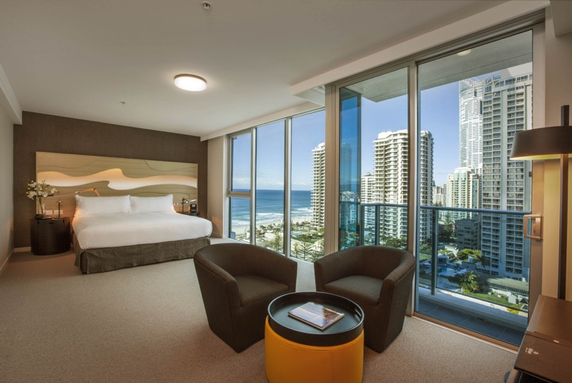 King Executive Room, Hilton Surfers Paradise