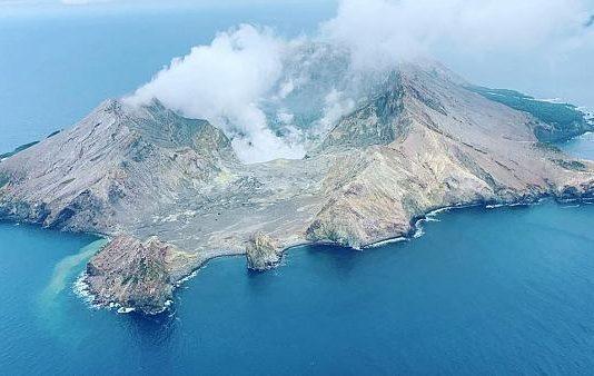 New Zealand Volcano Update (Image Source: Euronews)