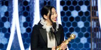 Awkwafina made history at the Golden Globe
