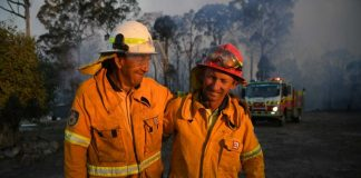 Torrington RFS Volunteers (Image Source: ABC)