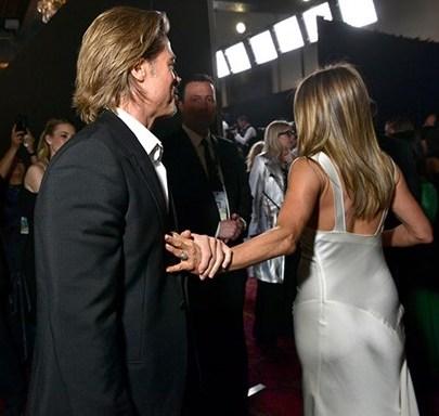 Jen and Brad