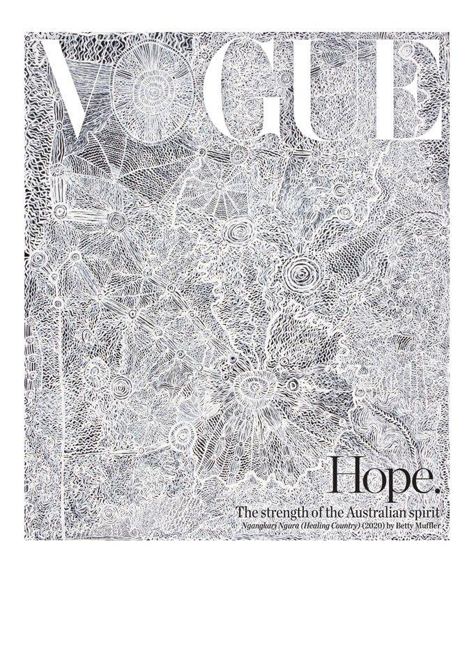 Vogue Australia's September 2020 Hope