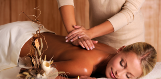 Massage for younger looking skin
