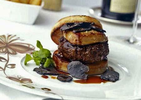 Fleurburger 5000- Most Expensive Burger, crowdink, crowd ink, crowdink.com