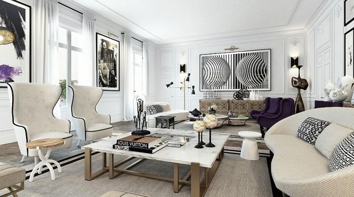 Paris Inspired (Image Source California Home Design), www.crowdink.com