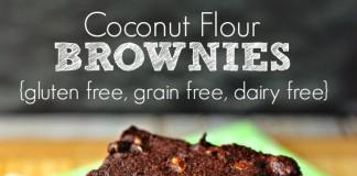 Coconut Flour Brownies: Gluten Free, Grain Free, Dairy Free (Image Source: Renees Kitchen Adventures), www.crowdink.com