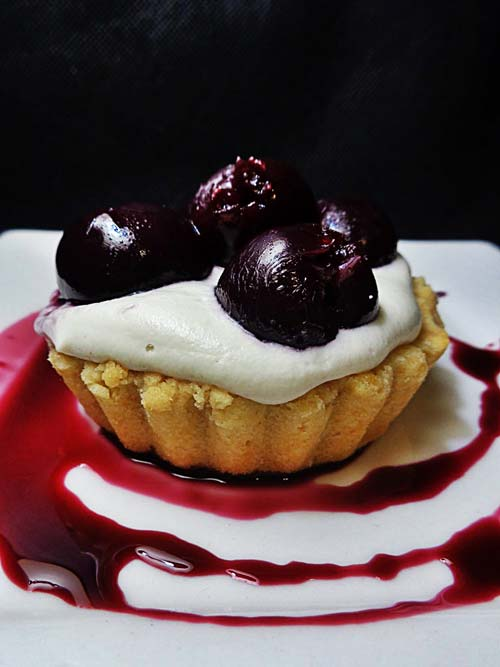 Olive Oil Tarts with Cashew Cream, crowdink, crowd ink, crowdink.com, crowdink.com.au
