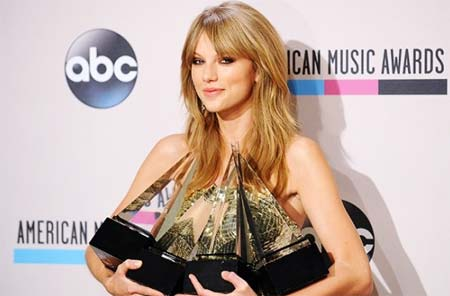 Taylor Swift Wins Six Nominations (Image Source abc)