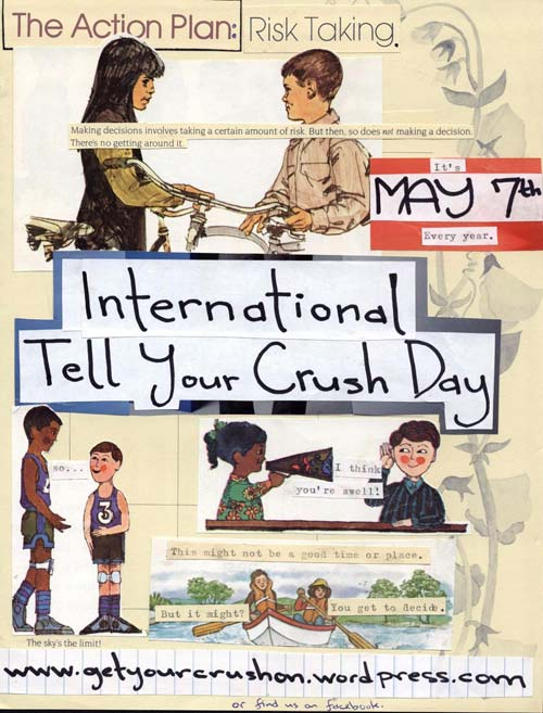 International Tell Your Crush Day [image source: facebook], crowdink, crowd ink, crowdink.com, crowdink.com.au