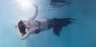 Mermaid in Sunshine [image source: instagram @projectmermaids], crowdink, crowd ink, crowdink.com, crowdink.com.au