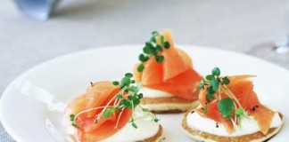 Salmon Pikelets [image source: taste.com.au], crowdink, crowd ink, crowdink.com, crowdink.com.au