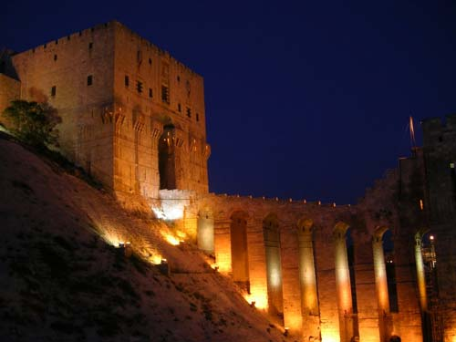 The Castle of Aleppo [image source: Panoramio], crowdink, crowd ink, crowdink.com.au, crowdink.com