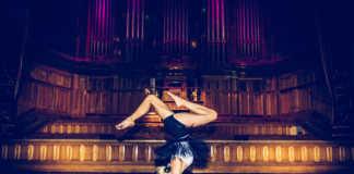 Kate Kendall at Flow After Dark Event Melbourne June 2016, Photographer: Leeroy TeHira, crowdink.com, crowdink.com.au, crowd ink, crowdink, flow, yoga, yogi, fitness, health,