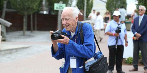 Bill Cunningham [image source: Huffington Post], crowd ink, crowdink, crowdink.com, crowdink.com.au