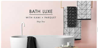Bath Luxe AURA by Tracie Ellis, crowd ink, crowdink, crowdink.com, crowdink.com.au