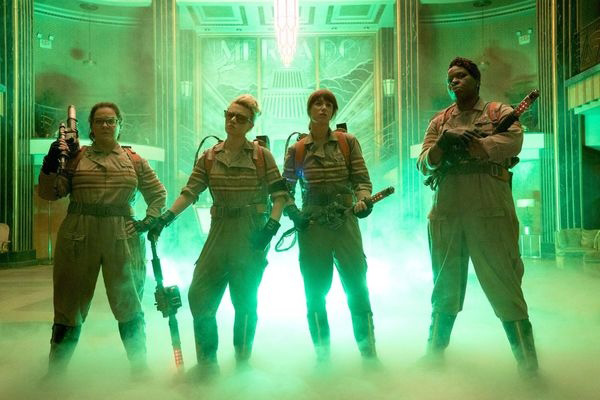 Ghostbusters Cast [image source: digitaltrends.com], crowd ink, crowdink, crowdink.com, crowdink.com.au