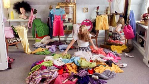 Clueless Wardrobe [image source: screencap from film, Clueless], crowd ink, crowdink, crowdink.com, crowdink.com.au
