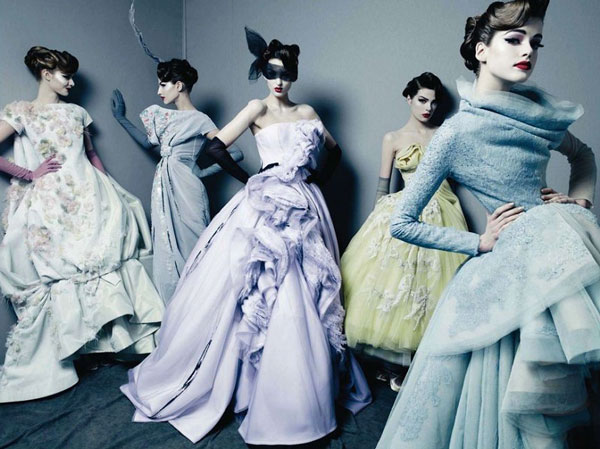 Dior Couture [image source: Patrick Marchelier], crowd ink, crowdink, crowdink.com, crowdink.com.au