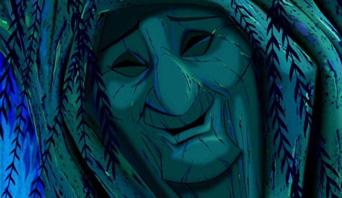 Grandmother Willow [image source: Disney's Pocahontas], crowd ink, crowdink, crowdink.com, crowdink.com.au