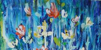 Ikebana by Terina Jones, crowd ink, crowdink, crowdink.com, crowdink.com.au