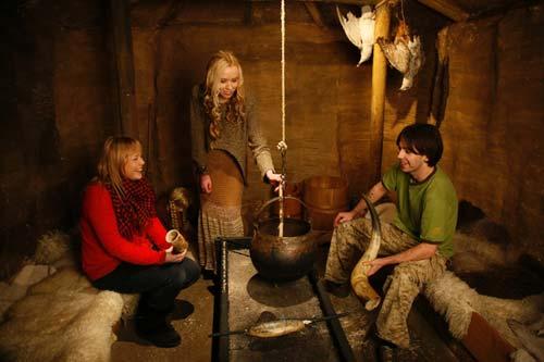 Viking House at Dublinia [image source: heritage island], crowd ink, crowdink, crowdink.com, crowdink.com.au